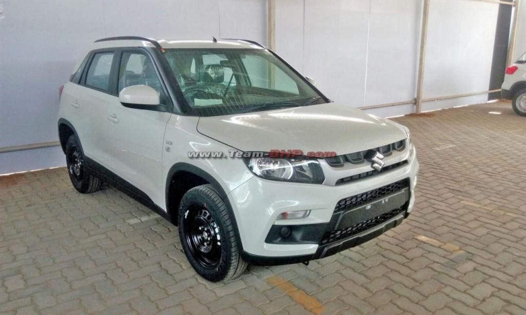 Suzuki Car Dealership >> Vitara Brezza Colours: Base LDi Variant & Dual-tone
