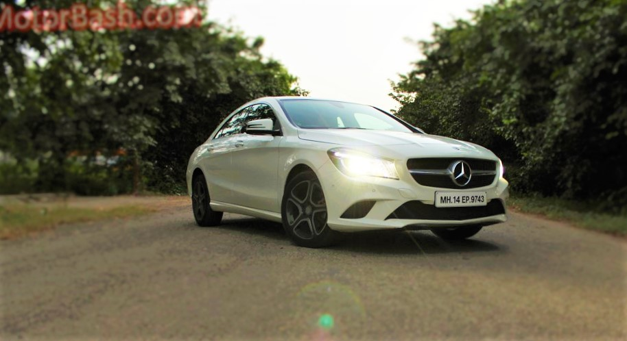 mercedes cla 200 review sport petrol variant. Black Bedroom Furniture Sets. Home Design Ideas