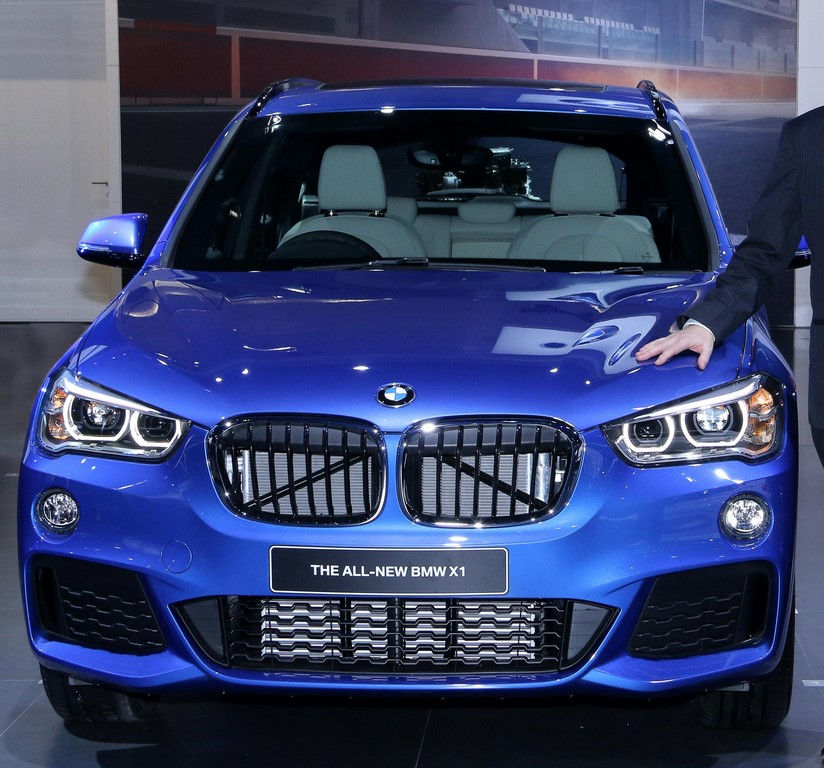 New 2016 BMW X1 Blue Pic