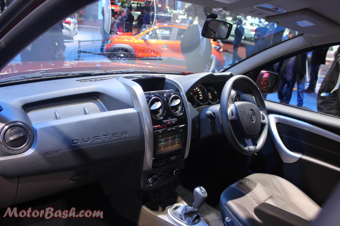 Renault Duster Facelift Interior-pics