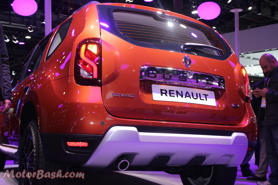Renault Duster Facelift Rear pic