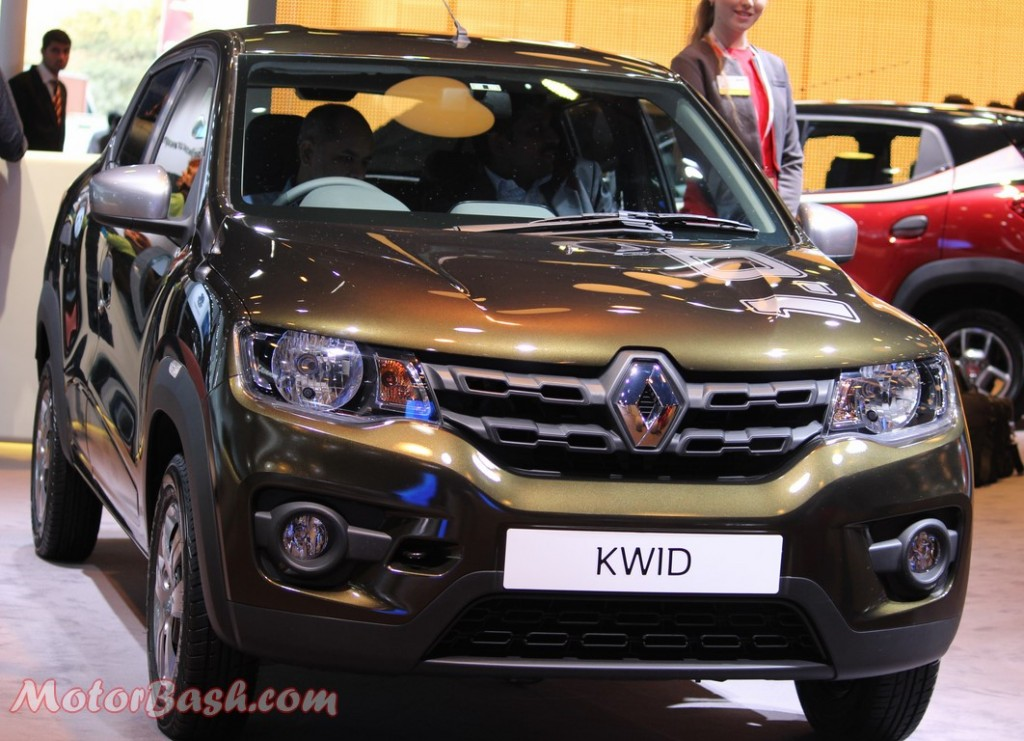 Renault Kwid 1.0L Pic front