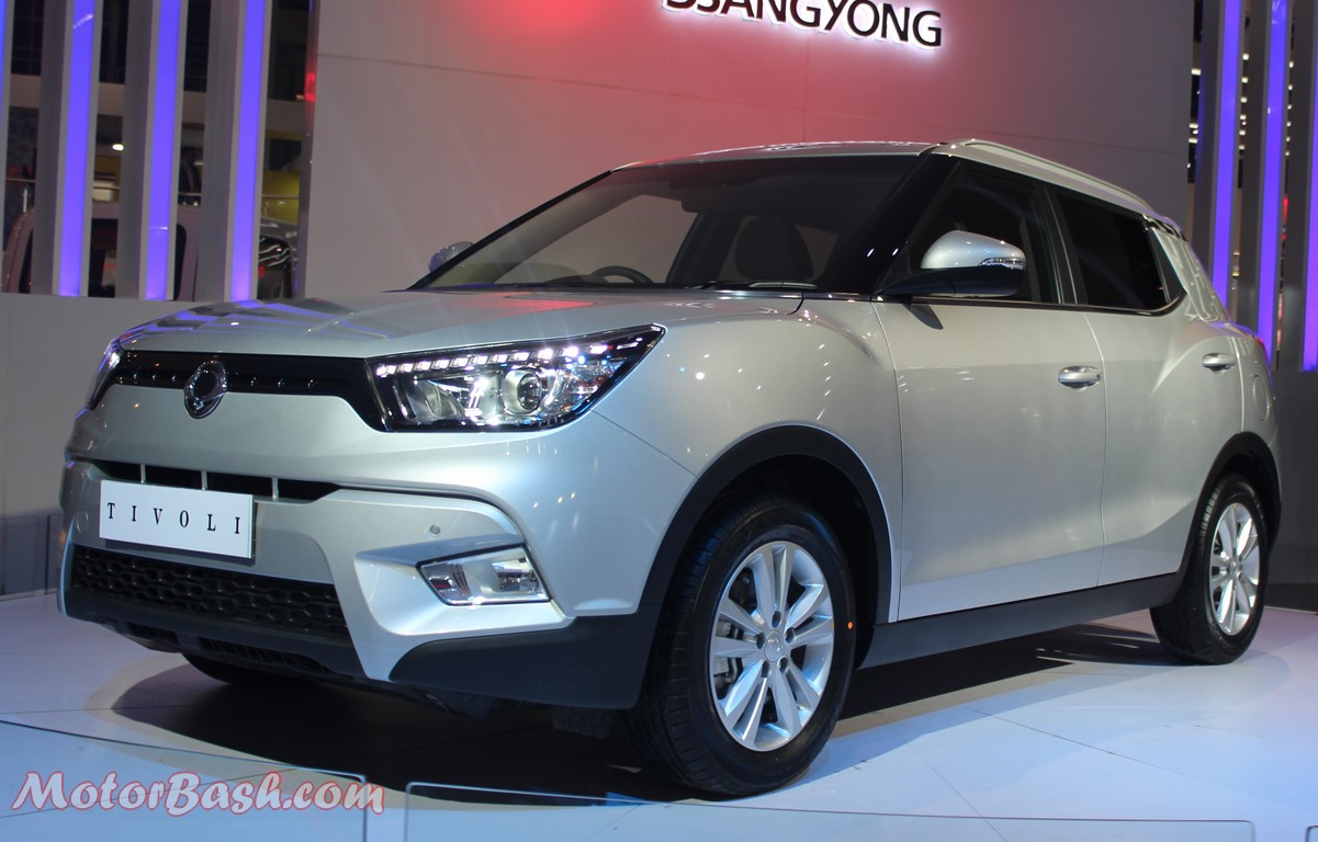 Ssangyong Tivoli Compact SUV Pics Front