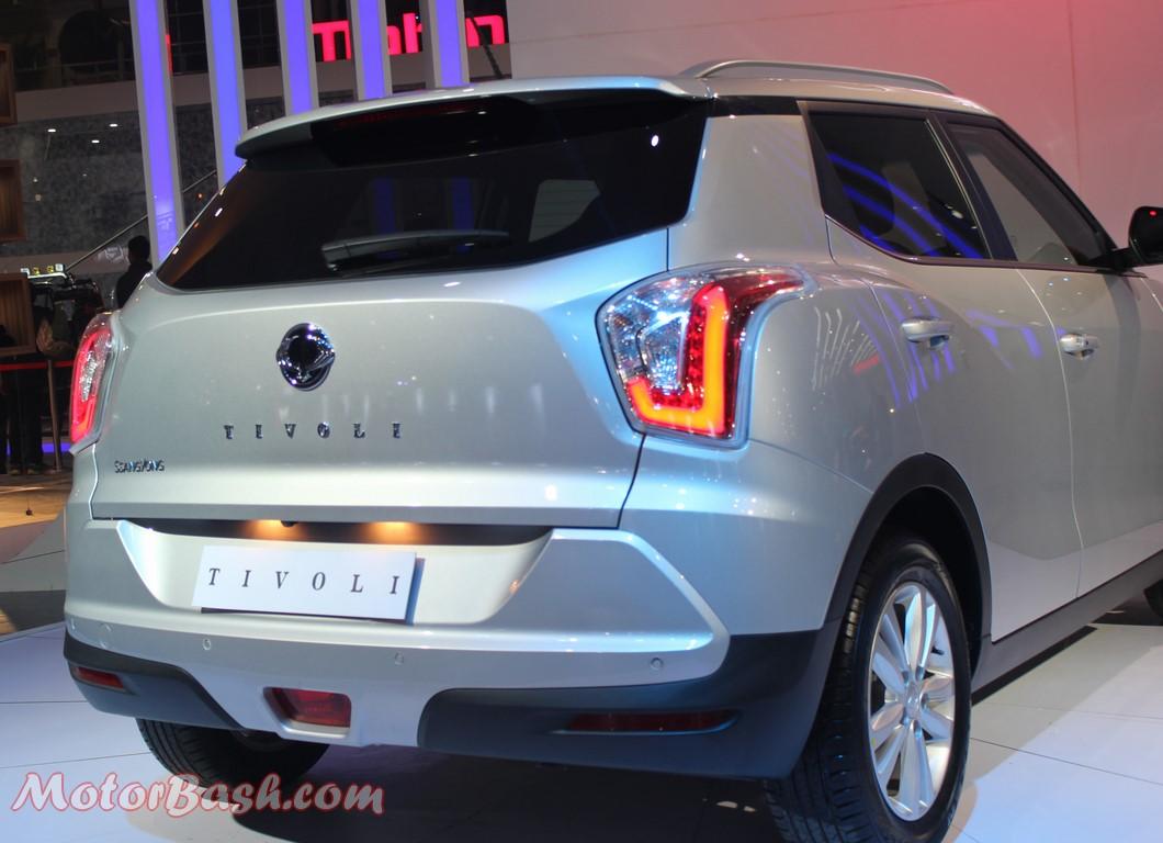 Ssangyong Tivoli Compact SUV-Pics-Rear