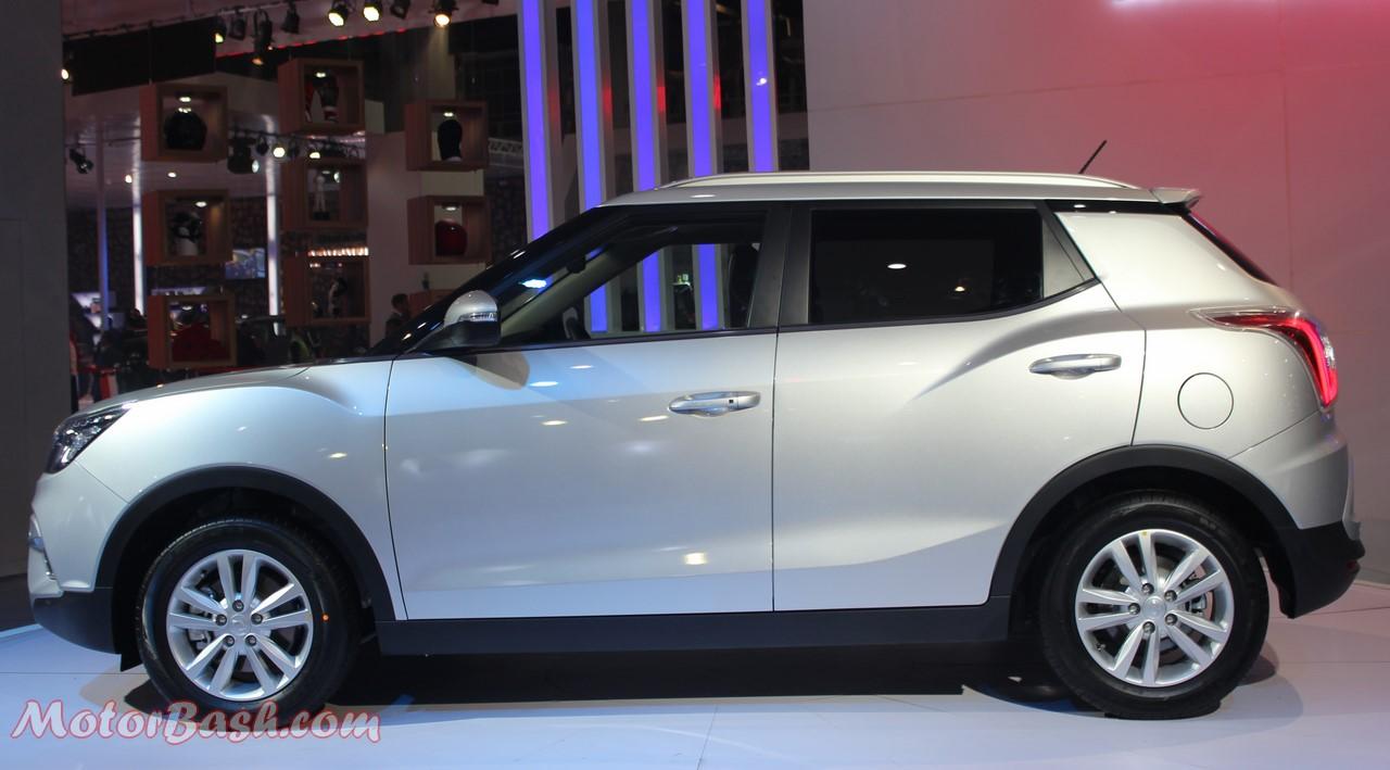 Ssangyong Tivoli Compact SUV-Pics-Side