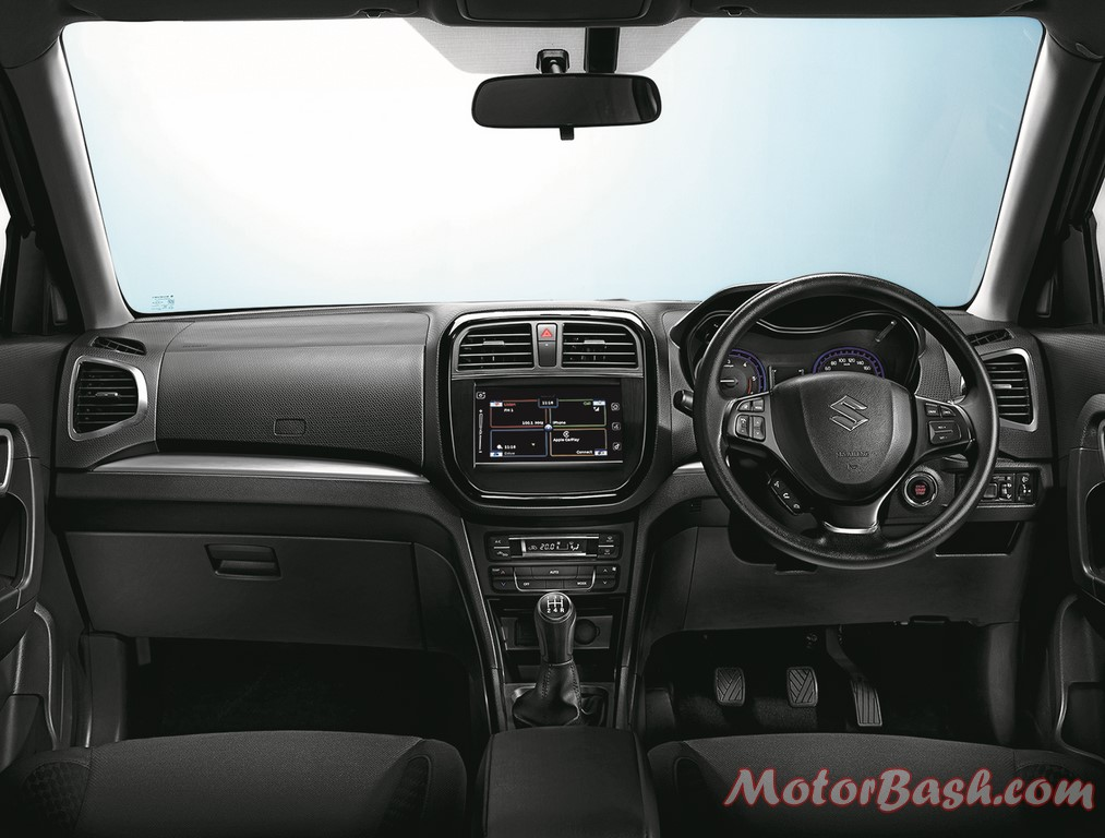Vitara-Brezza-Pics-interiors-dashboard