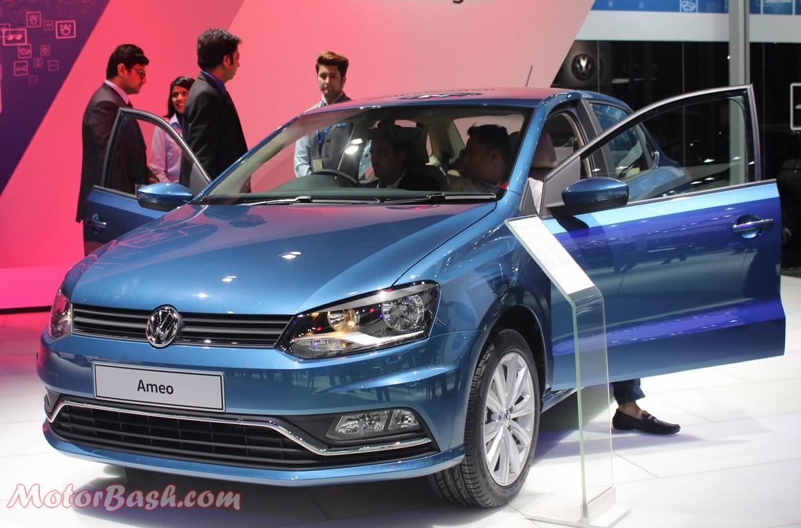 Volkswagen Ameo Compact Sedan Pic
