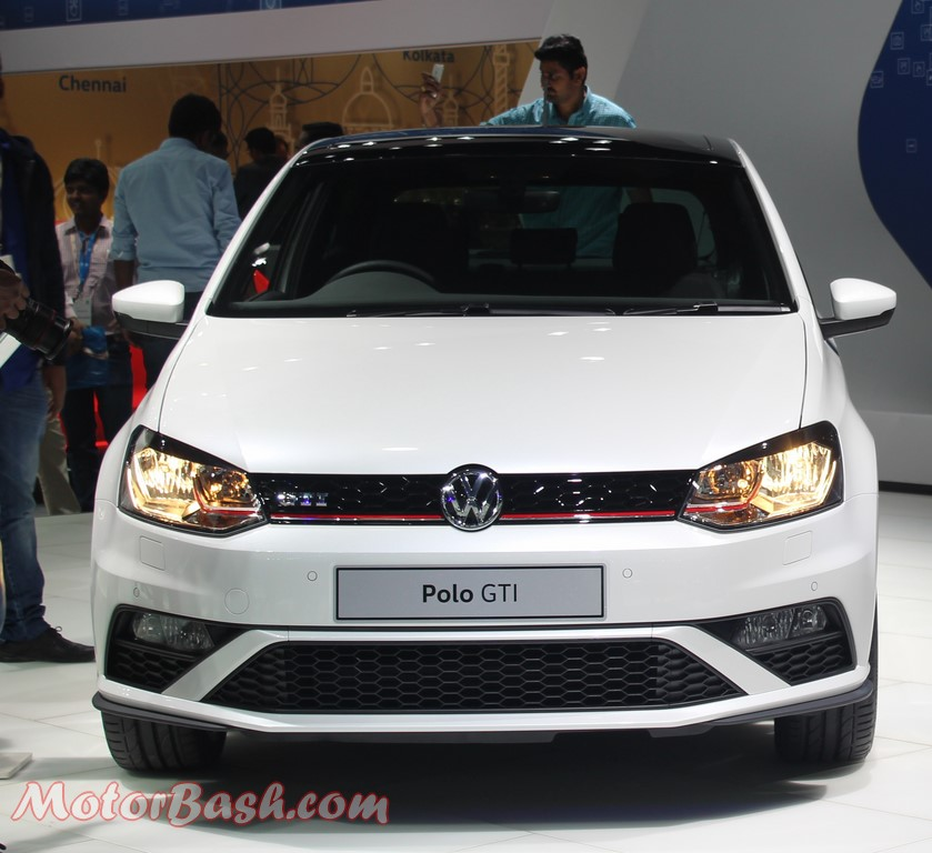 volkswagen at the auto expo 2016 189 bhp polo gti tiguan others. Black Bedroom Furniture Sets. Home Design Ideas