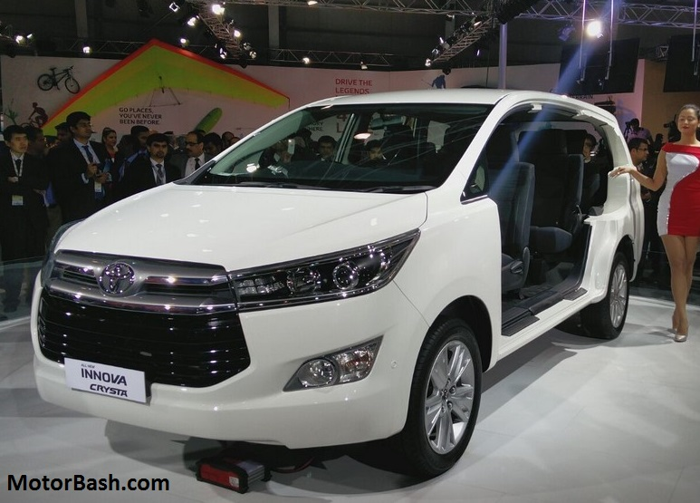 Innova Crysta Specs Busted Ahead Of Launch Motorbash Com