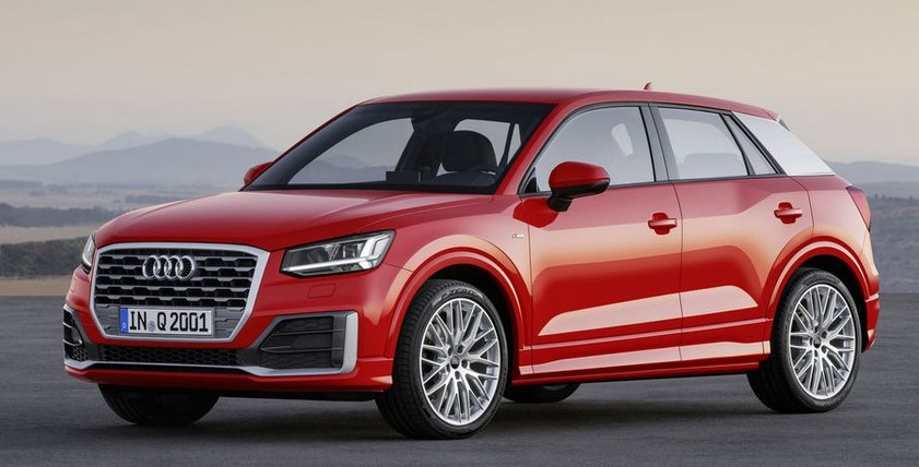 Audi Q2 Front Red