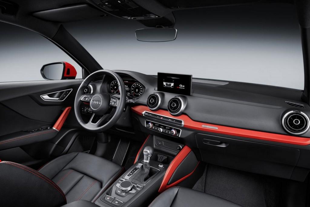 Audi Q2 interiors