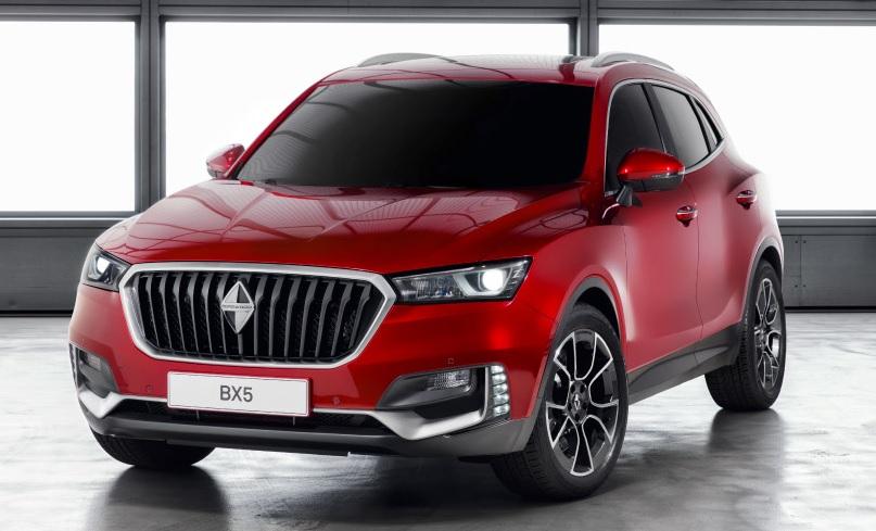 Borgward BX5 front