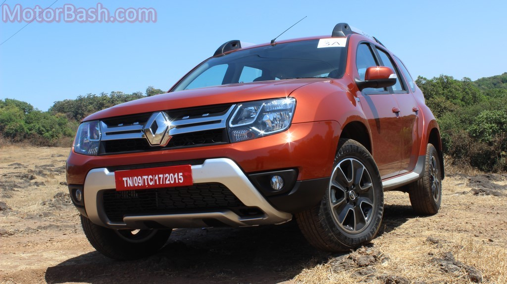 Duster AMT front