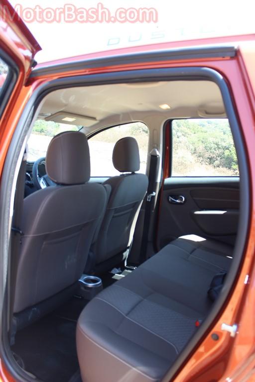 Duster rear seat