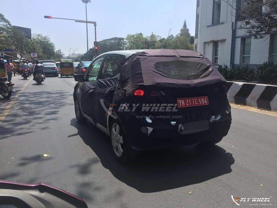 Hyundai ix20 Spy Pics India