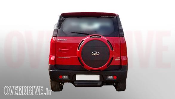 Mahindra Nuvosport rear
