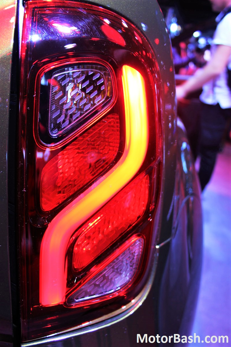 New 2016 Duster Tail Lamps waterfall design
