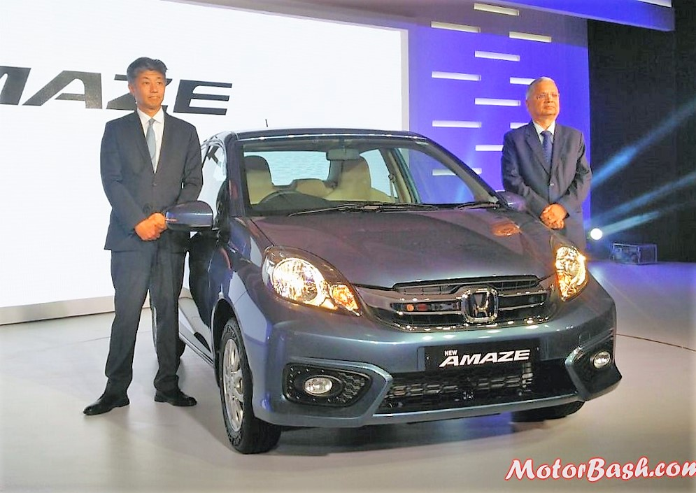 New 2016 Honda Amaze Facelift Pics (1)