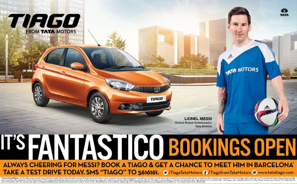 Tata Tiago Launch date Bookings Open Contest