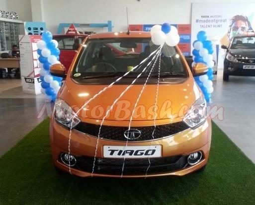 Tata Tiago Front View Pic