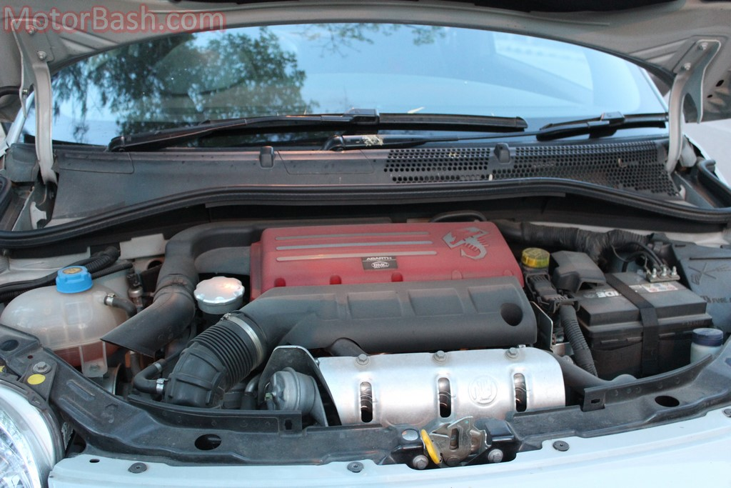 Abarth 595 engine 160hp