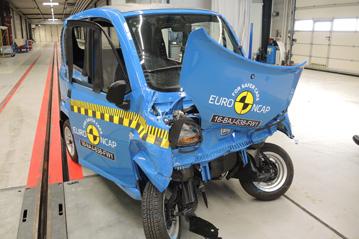 Bajaj Qute NCAP testing 2