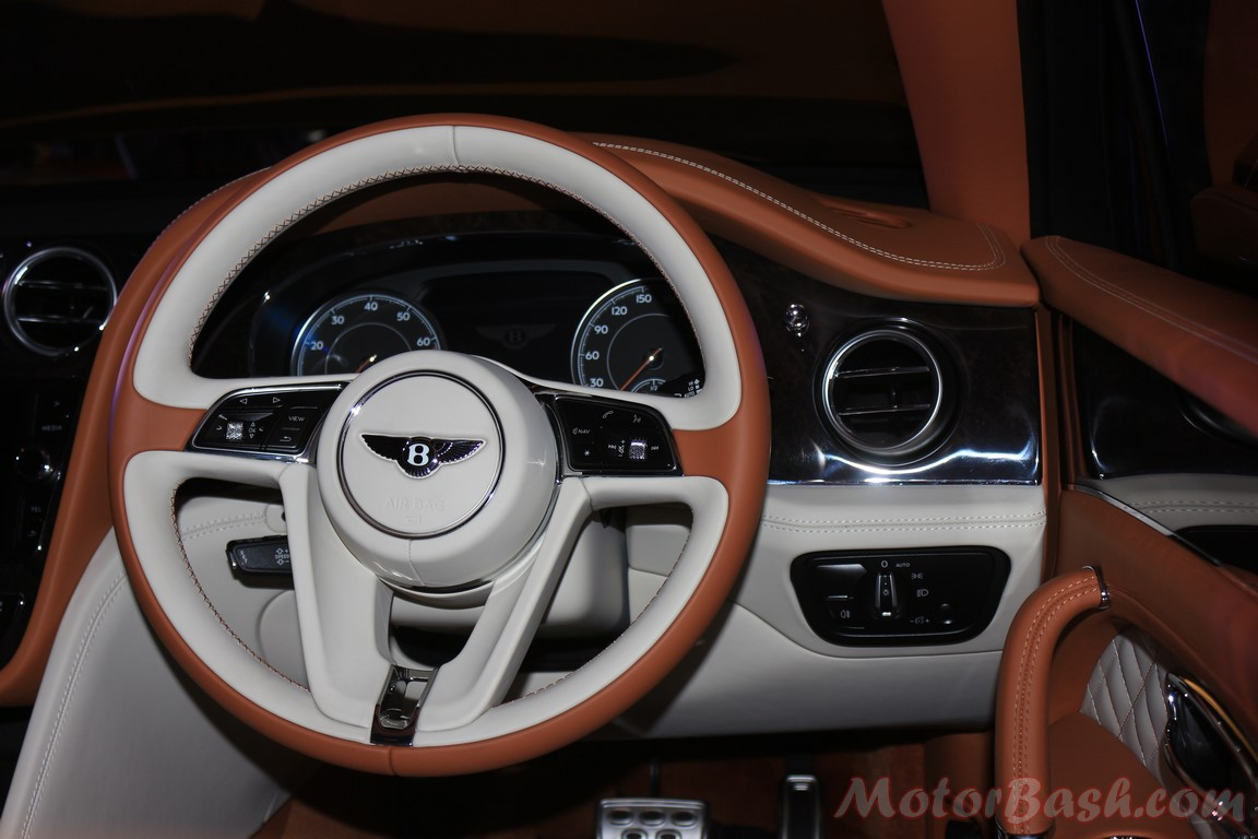Bentley Launches Bentayga for Rs 3.85 crores! - MotorBash.com
