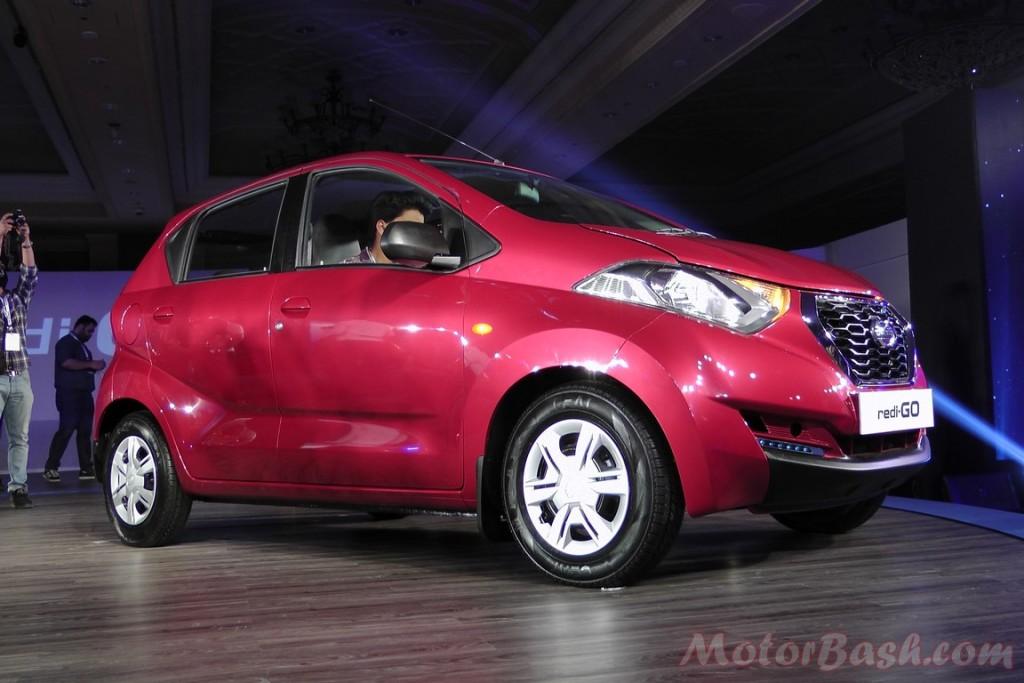 Datsun redi-Go front three quarter