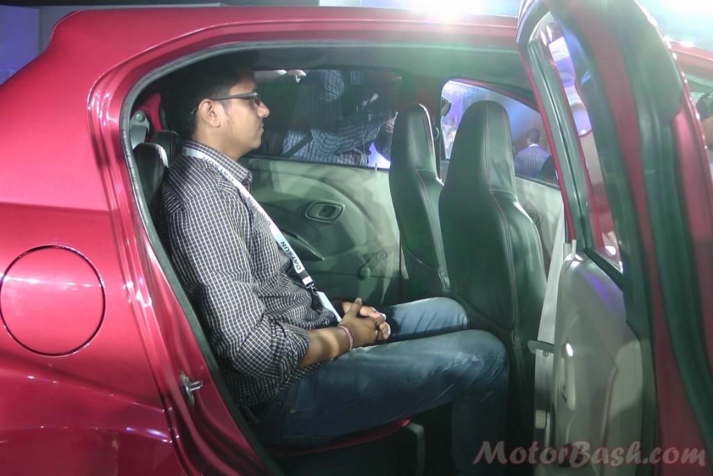Datsun redi-Go rear seat 2
