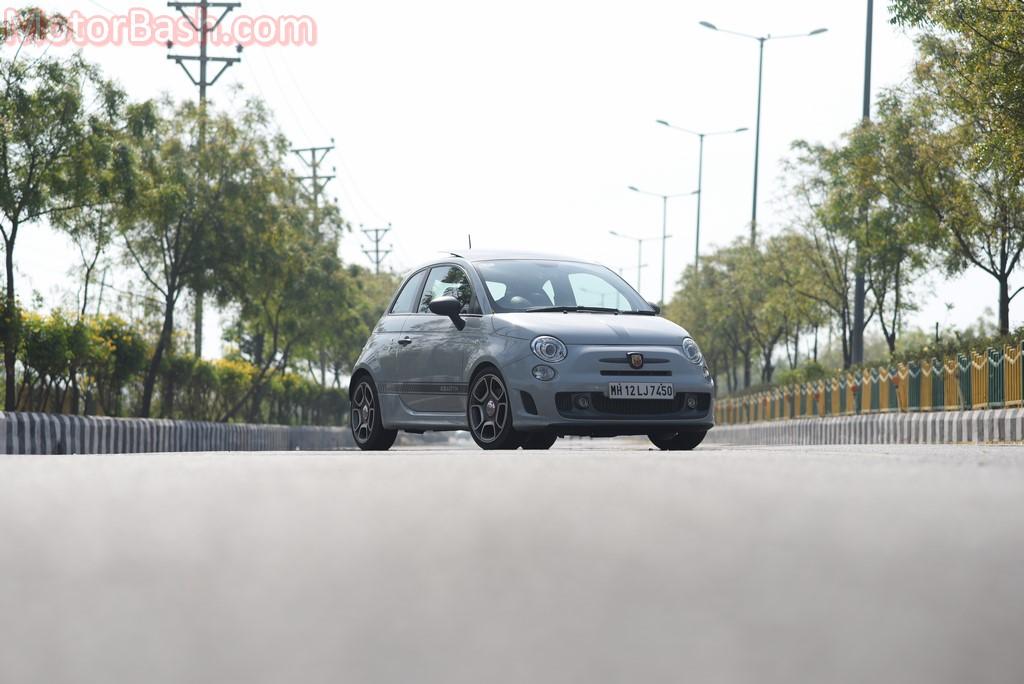 Fiat 595 Abarth still shot