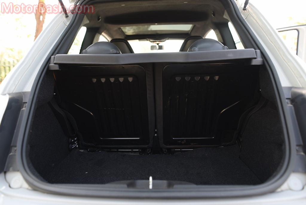 Fiat Abarth 595 boot space