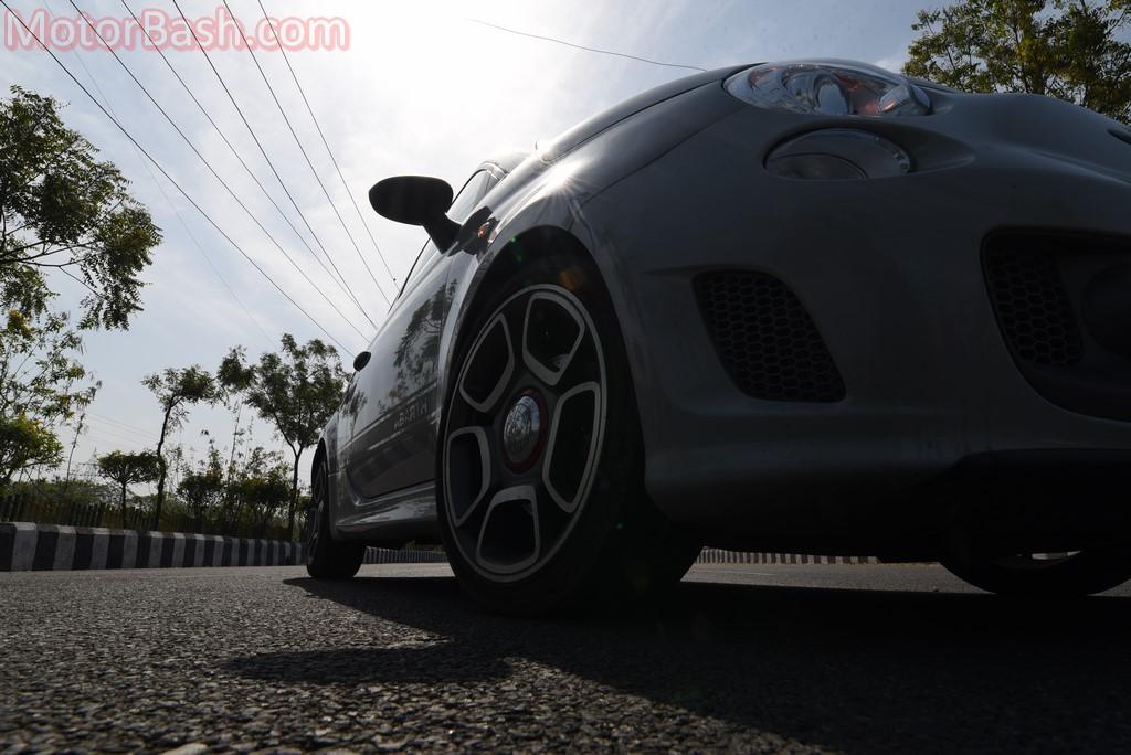 Fiat Abarth 595 wheels