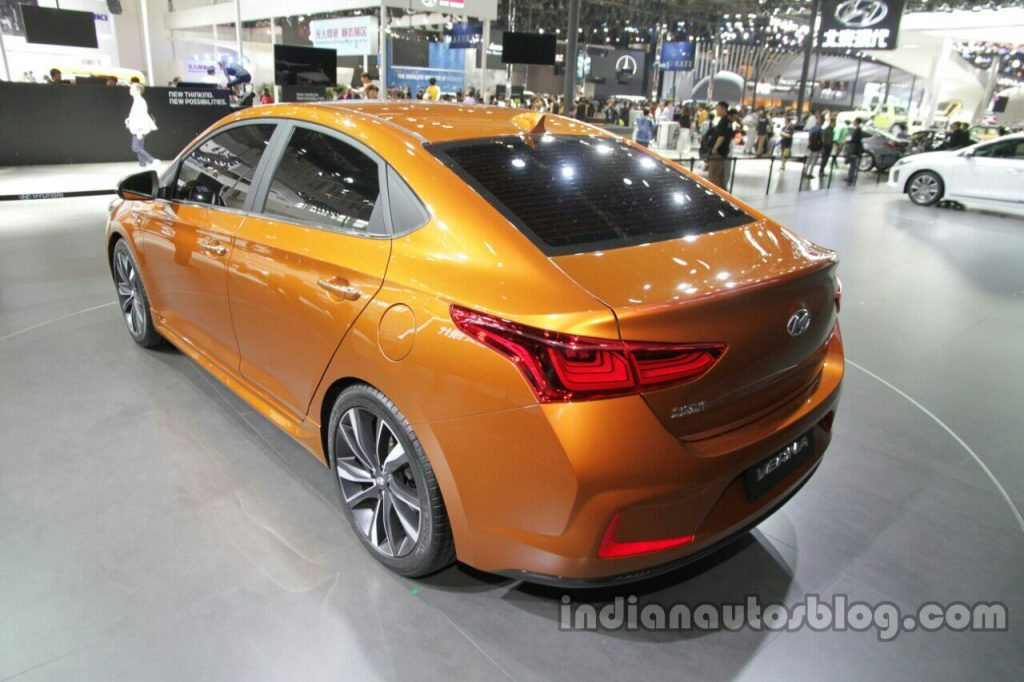Next-Gen Verna concept Rear
