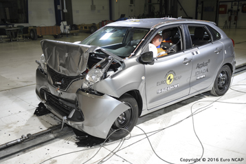 Suzuki Baleno crash test 3