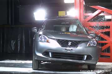 Suzuki Baleno crash test 5