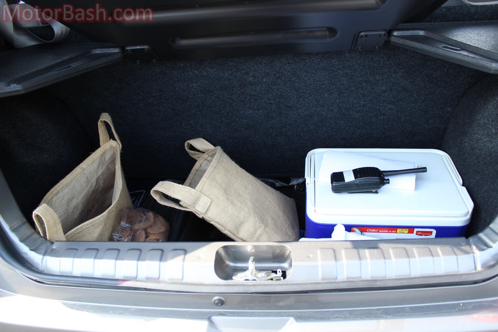 Datsun Redigo boot space