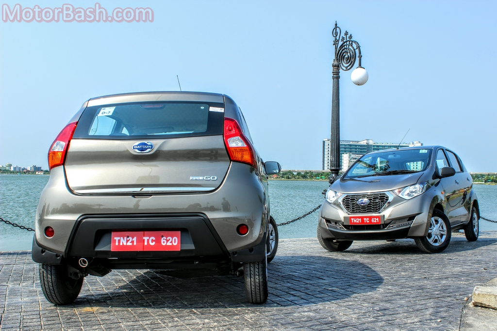 Datsun Redigo front and back