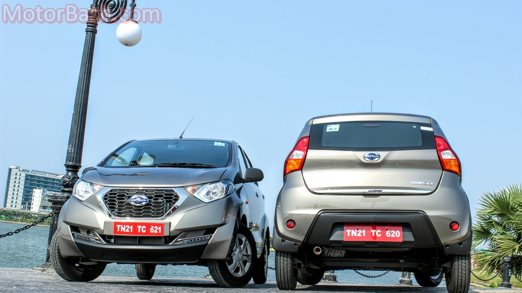 Datsun Redigo front and rear