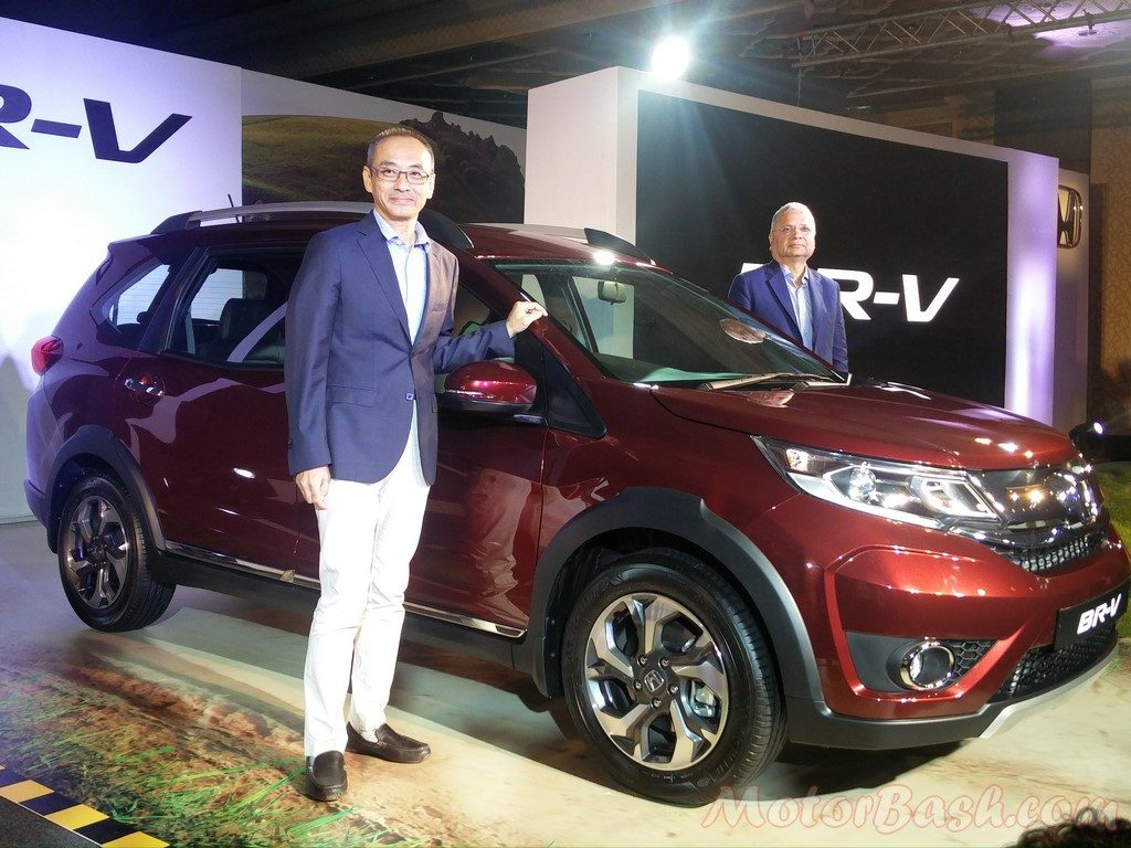 Honda BR-V launch cover