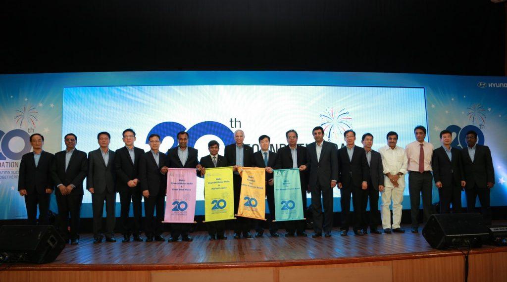 Hyundai 20 year celebrations 2