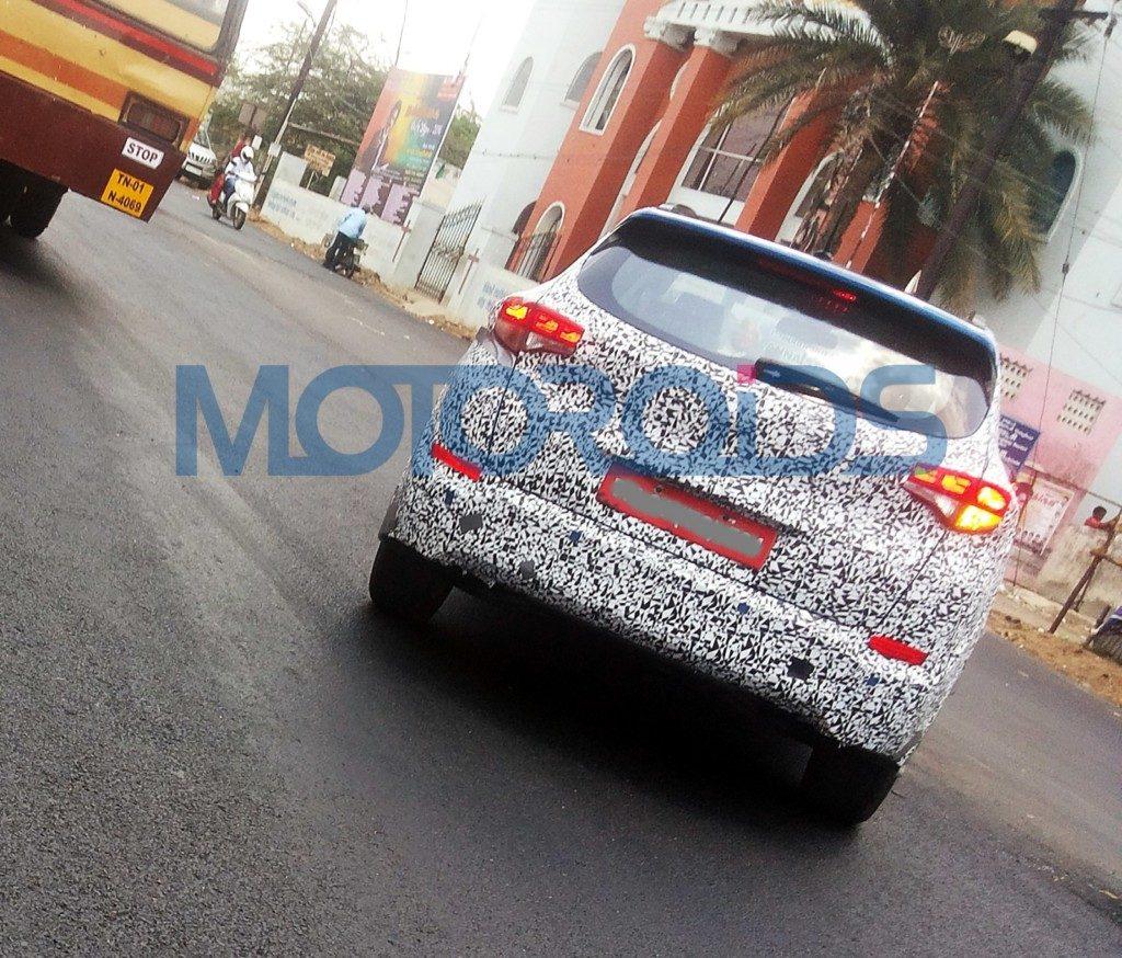 Hyundai Tucson spyshot rear