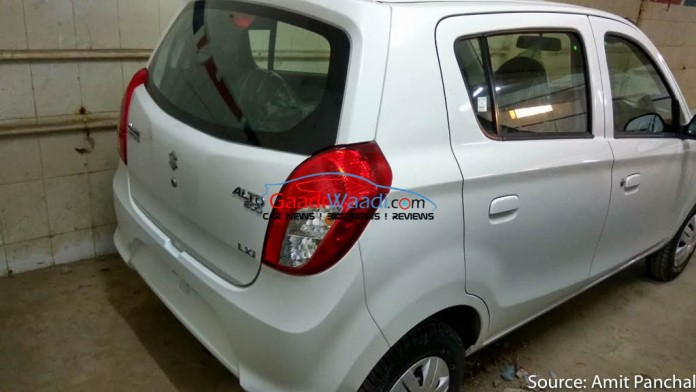 Maruti Alto 800 facelift 3