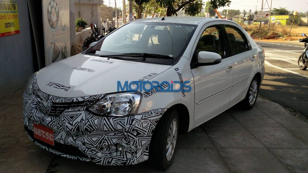 Toyota Etios facelift front