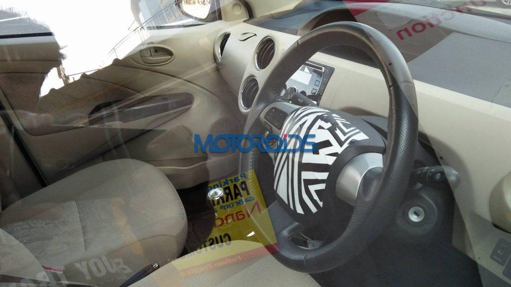 Toyota Etios facelift interiors