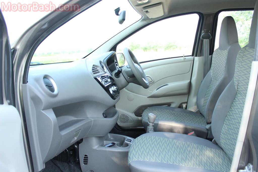 redigo front seats