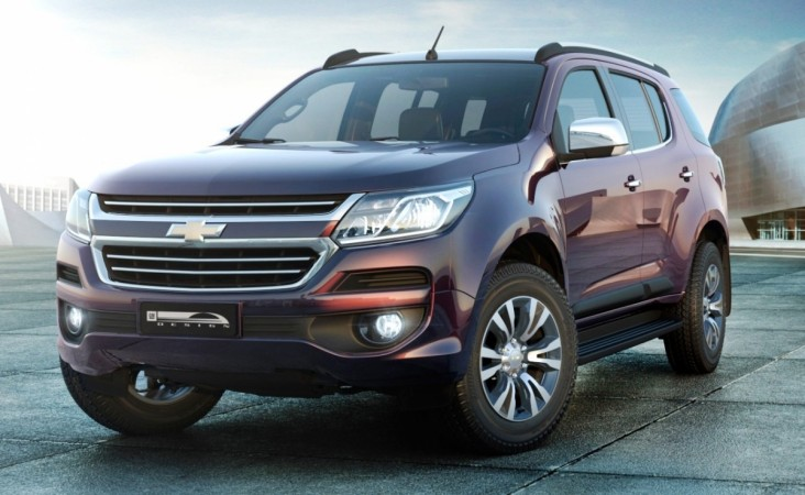 Chevrolet Trailblazer facelift
