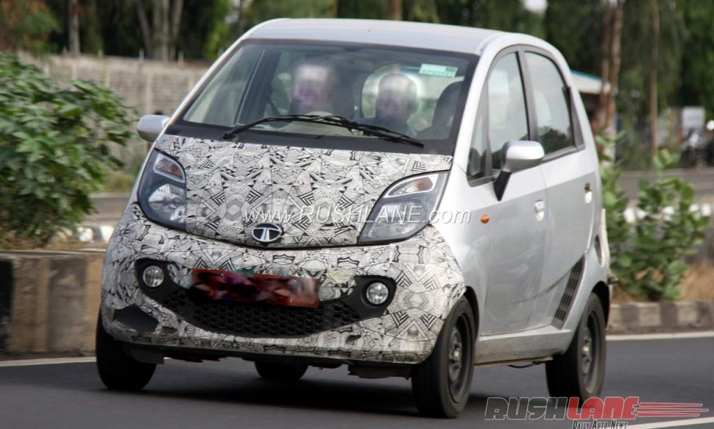 Tata Nano Electric front