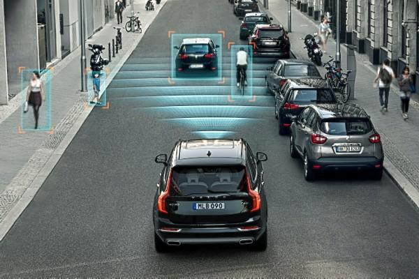 Volvo radar based safety system