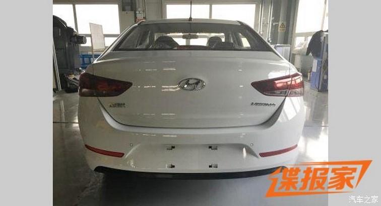 Hyundai Verna rear