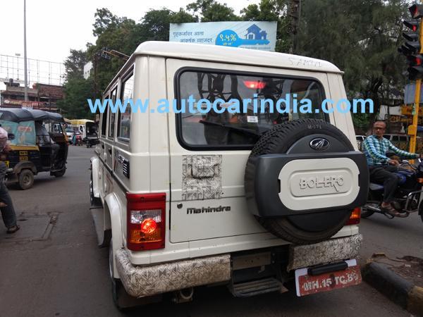 Mahindra Bolero sub 4m rear